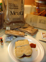 The Veggie Burger MRE