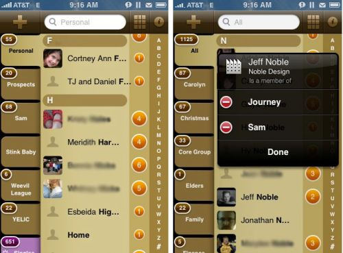 how to group apps on iphone review groups app for iphone notes from the trail 2010