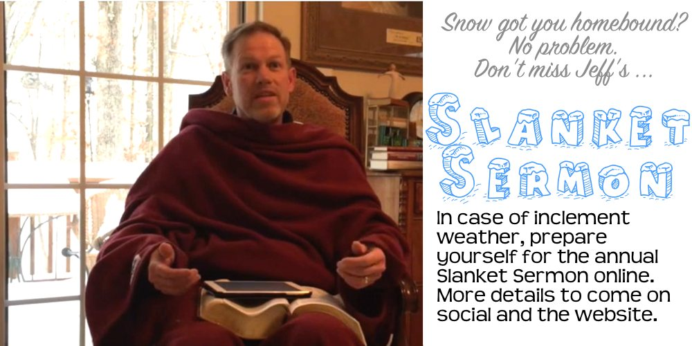 Slanket Sermon