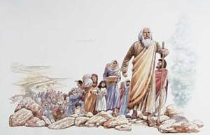 Moses-leading-Israelites